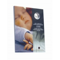 2008 Baby's Lullabies CD & Sterling Silver Dollar