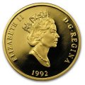 1992 Canadian $200 Niagara Falls: A Natural Wonder Proof 22-karat Gold Coin