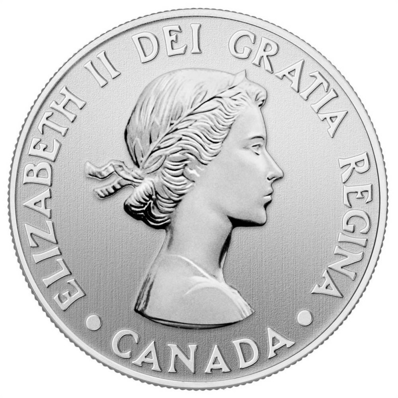 2012 1952 Canadian 20 For 20 Queen S Diamond Jubilee Fine Silver Commemorative Coin