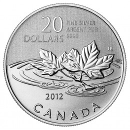 2012 Canadian $20 for $20 Farewell to the Penny Fine Silver Commemorative Coin
