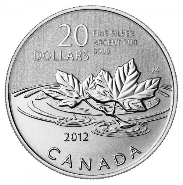 2012 Fine Silver 20 Dollar Coin - $20 for $20: Farewell to the Penny