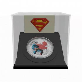 2013 Fine Silver 20 Dollar Coin - Superman™ Man of Steel™
