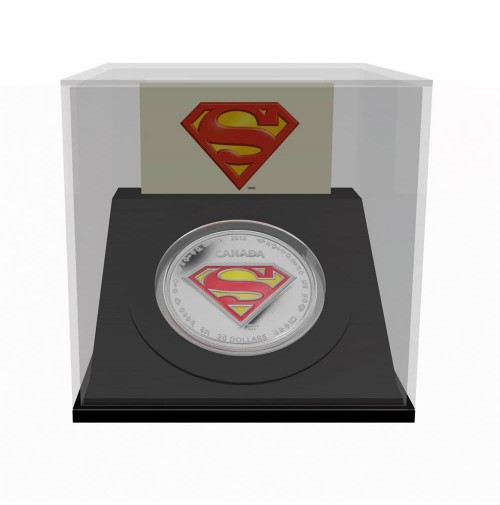 2013 Fine Silver 20 Dollar Coin - Superman™: The Shield