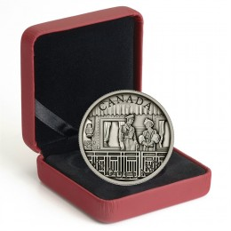 2014 Canada Fine Silver 20 Dollar Coin - 75th Anniversary of the First Royal Visit