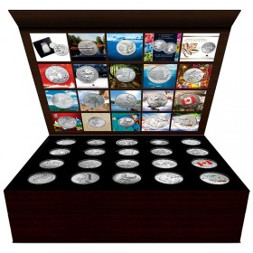 2011 - 2015 Canada Face Value 20-coin Empty Collector Set Case for $20 for $20, $25 for $25