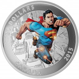 2015 Canada Fine Silver 20 Dollar Coin - Iconic Superman Comic Book Covers: Action Comics #1 (2011)