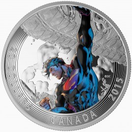2015 Canada Fine Silver 20 Dollar Coin - Iconic Superman Comic Book Covers: Superman Unchained #2 (2013)