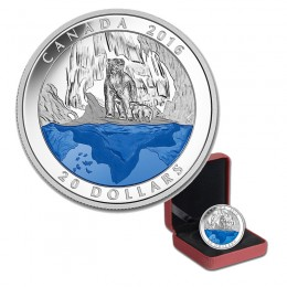 2016 Canadian $20 Iconic Canada: Polar Bear Fine Silver Coin *Masters Club Exclusive*