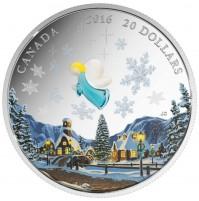 2016 Fine Silver 20 Dollar Coin - Venetian Glass: My Angel