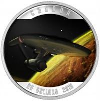 2016 Fine Silver 20 Dollar Coin - Star Trek™: Enterprise