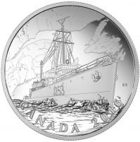 2016 Fine Silver 20 Dollar Coin - Patrol Against U-Boats