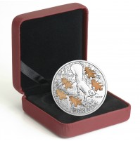 2017 Canada Fine Silver 20 Dollar Coin - The Nutty Squirrel and the Mighty Oak
