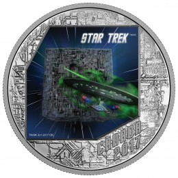 2017 Canadian $20 Star Trek™ The Borg 1 oz Fine Silver Coin