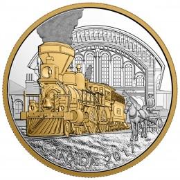 2017 Canada Fine Silver $20 Coin - Locomotives Across Canada: 4-4-0