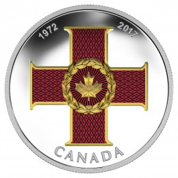 2017 Canada Fine Silver $20 Coin - Canadian Honours: 45th Anniversary of The Cross of Valour