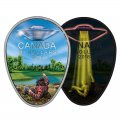 *UFO 2-Coin Set* 2017 (1947-) Niue $2 Roswell Incident Coin / 2018 Canadian $20 Falcon Lake Incident Coin (Glow-In-The-Dark)