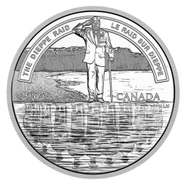 2018 Canadian $20 The Dieppe Raid - 1 oz Fine Silver Coin