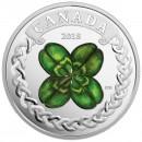 2018 Canada Fine Silver $20 Coin - Lucky Clover