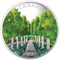 2018 Canadian $20 Maple Tree Tunnel 1 oz Fine Silver Coloured Coin & Black Light Flashlight