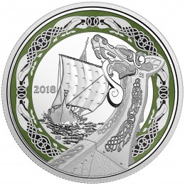2018 Canada Fine Silver $20 Coin - Norse Figureheads: Northern Fury