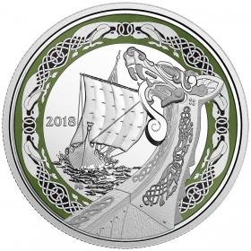 2018 Canada Fine Silver $20 Coin - Norse Figureheads: Northern Fury