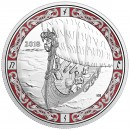 2018 Canada Fine Silver $20 Coin - Norse Figureheads: Viking Voyage