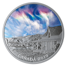 2019 Canadian $20 Sky Wonders: Fire Rainbow - 1 oz Fine Silver Coloured Coin