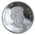 2019 Canadian $20 Lights of Parliament Hill - 1 oz Fine Silver Coin