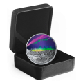 """2019 Canadian $20 Sky Wonders: """"Steve"""" - 1 oz Fine Silver Coloured Coin"""