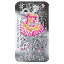 2019 Canadian $20 The Sleeping Beauty - 1 oz Fine Silver Coloured Coin