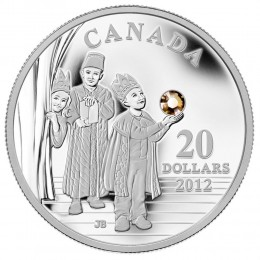 2012 Canada Fine Silver $20 Coin - Crystal Series: Three Wise Men