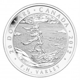 2012 Canada Fine Silver $20 Coin - Group of Seven: F.H. Varley