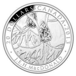 2013 Canada Fine Silver $20 Coin - Group of Seven: J.E.H MacDonald