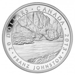 2013 Canada Fine Silver $20 Coin - Group of Seven: Franz Johnston - The Guardian of the Gorge