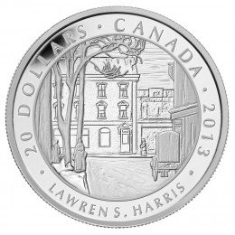 2013 Canada Fine Silver $20 Coin - Group of Seven: Lawren S. Harris - Toronto Street Winter Morning