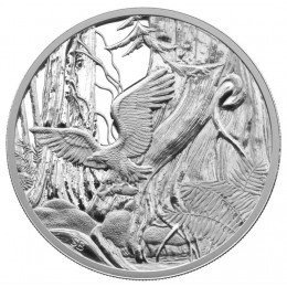 2005 Canada Fine Silver $20 Coin - National Parks: North Pacific Rim