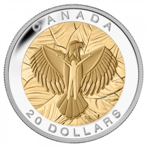 2014 Canada Fine Silver $20 Coin - The Seven Sacred Teachings: Love