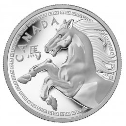 2014 Canadian $250 Year of the Horse - Fine Silver Kilogram Coin