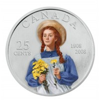 2008 25 Cent Coin - Anne of Green Gables