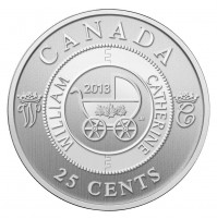 2013 25 Cent Coin - Royal Infant Carriage