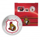 2014 Canada NHL® 25 cent Coin & Stamp Gift Set - Ottawa Senators