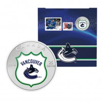 2014 Canada NHL® 25 cent Coin & Stamp Gift Set - Vancouver Canucks