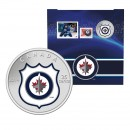 2014 Canada NHL® 25 cent Coin & Stamp Gift Set - Winnipeg Jets