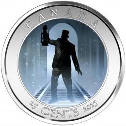 2015 Canada 25 Cent Coin - Haunted Canada: Brakeman
