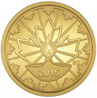 2015 Pure Gold 25 Cent Coin - Diwali: Festival of Lights