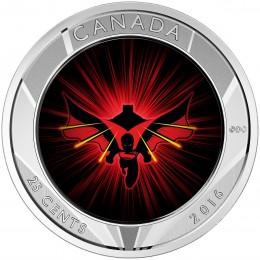 2016 Canada 25-cent 3D Coin - Batman v Superman: Dawn of Justice™