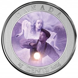 2016 Canada 25-cent Coin - Haunted Canada: Bell Island