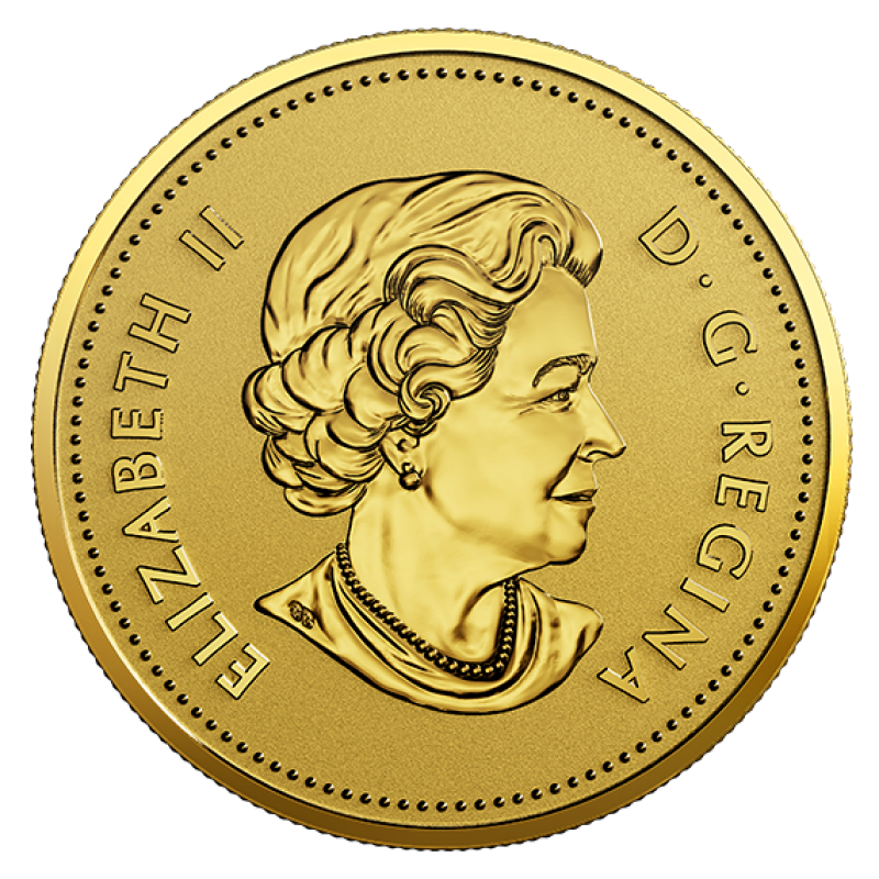 25 cent gold coin