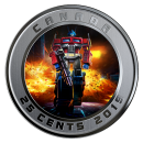 2019 Canadian 25-Cent Optimus Prime - 3D Lenticular Coin