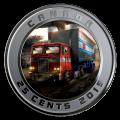 2019 Canadian 25-Cent Optimus Prime - 3D Lenticular Coin